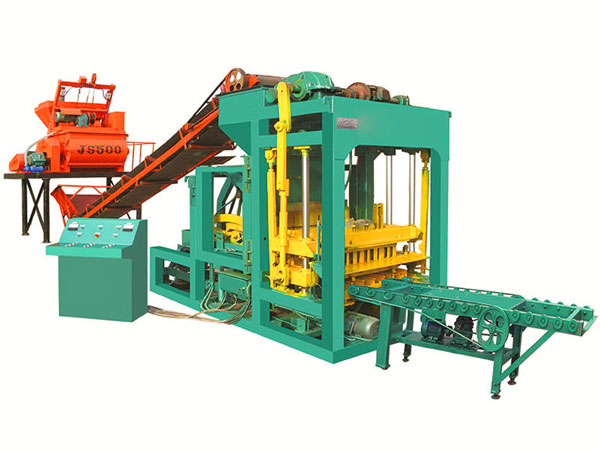QT4-25 fully automatic brick making machine
