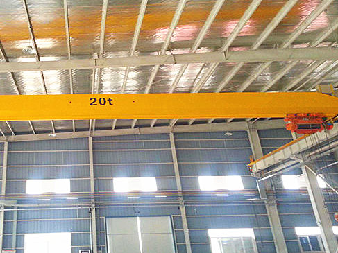 20 ton single girder crane